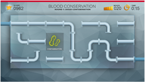 Play the Blood Conservation game