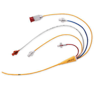 Swan ganz thermodilution catheter