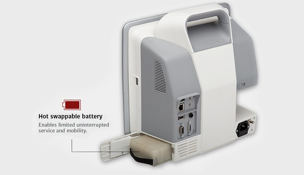 Hot swappable battery