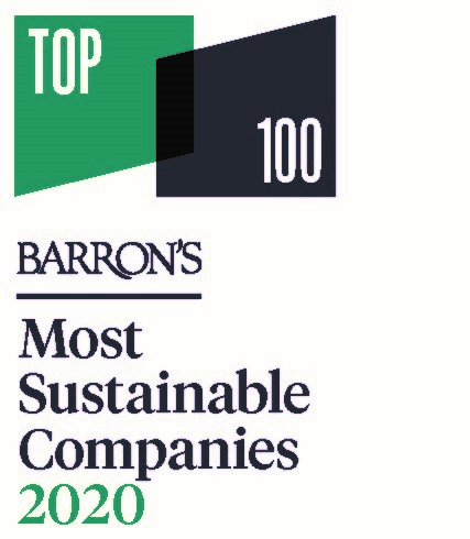 Barron's 2020 Most Sustainable Companies