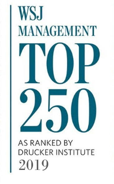 Wall Street Journal's Management Top 250