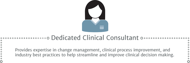 Dedicated clinical consultant
