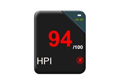 Característica del indicador de probabilidad de hipotensión (HPI)