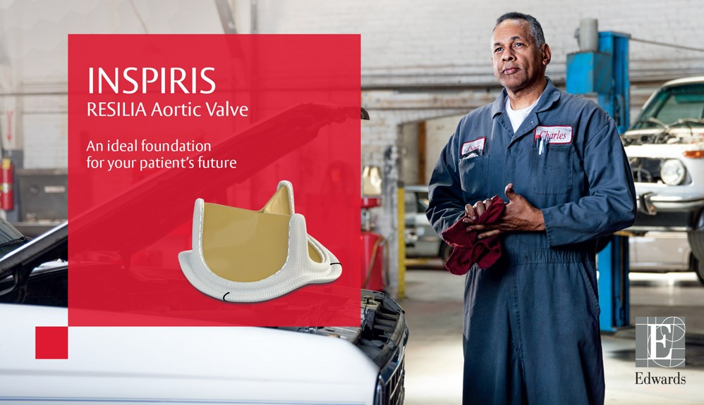 Inspiris Resilia aortic valve. An ideal foundation for your patient's future
