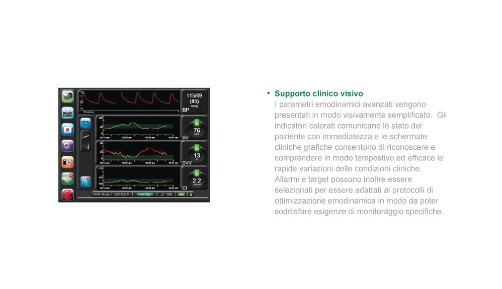 Supporto clinico visivo EV1000